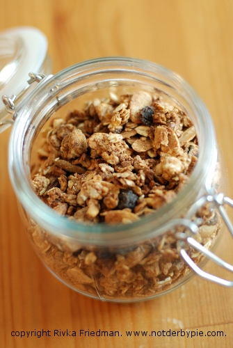Homemade Granola — I've warned you.