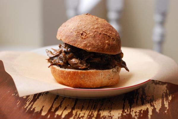 Pulled Jerk Chicken Sandwiches