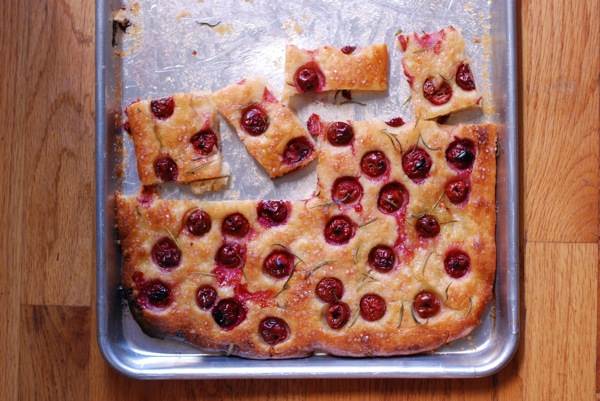 Sour Cherry And Rosemary Focaccia Recipe — Dishmaps