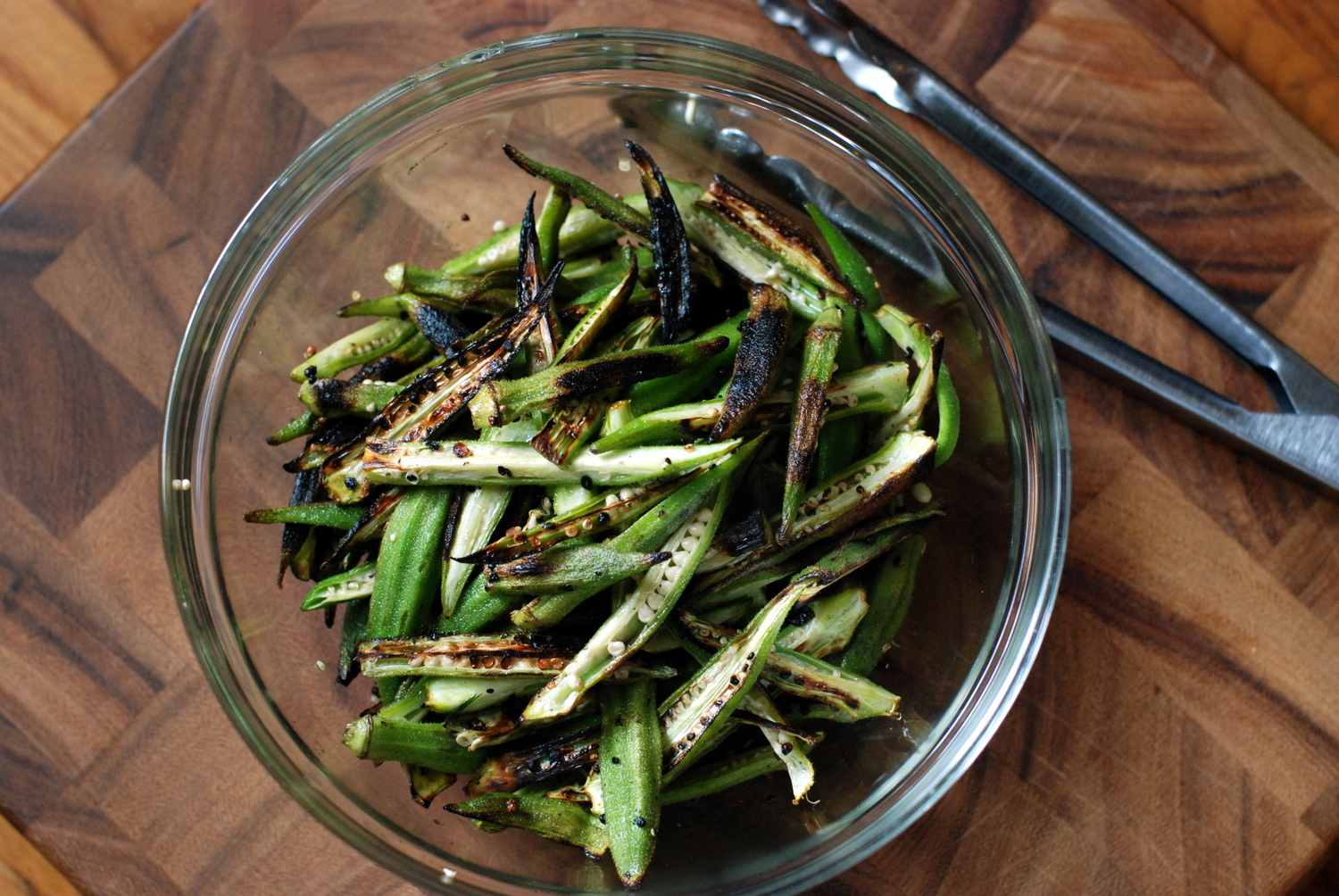 how to make okra not slimy