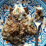 Thumbnail image for Lentils and Rice with Tamarind Sauce and Dukkah