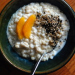 Thumbnail image for Barley Porridge with Orange and Black Sesame