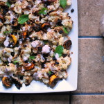 Thumbnail image for Roasted Cauliflower with Red Onion-Yogurt Sauce